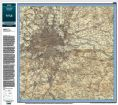 Ordnance Survey One Inch Map - Revised New Colour 1897 - 1912 at 1:50,000